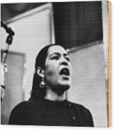 Billie Holiday (1915-1959) Wood Print