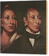 Black Hawk (1767-1838) Wood Print
