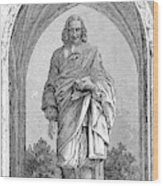Blaise Pascal  French Philosopher Wood Print