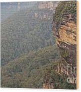 Blue Mountains Australia Wood Print