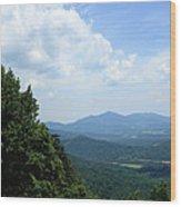 Blue Ridge Mountains - Virginia 5 Wood Print