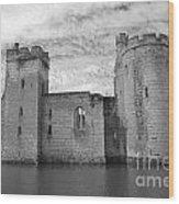 Bodiam Castle Wood Print