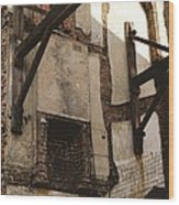 Bomb Site Wood Print