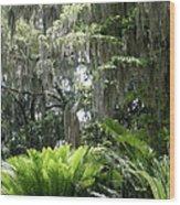 Bonaventure Wood Print by Victoria Lakes