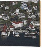 Boothbay Harbor, Maine Wood Print