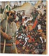 Border Terrier Art Canvas Print  Wood Print