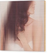 Boudoir Photography 6. Impressionism. Exclusively For Faa Wood Print