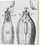 Boyle's Experiments On Air Wood Print