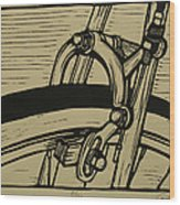 Brake Wood Print