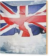 British Flag 3 Wood Print