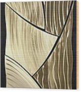 Broken Gold Wood Print