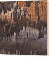 Bryce Canyon National Park Hoodo Monoliths Sunrise Southern Utah Wood Print