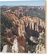 Bryce Canyon Overlook Wood Print