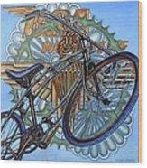 Bsa Parabike Wood Print by Mark Jones