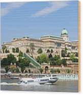 Buda Castle In Budapest Wood Print