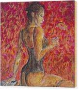 Burlesque II Wood Print