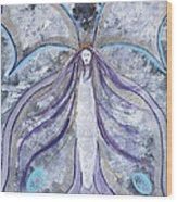 Butterfly Goddess Wood Print