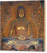 Byodo In - Amida Buddha Wood Print