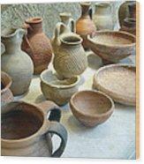Byzantine Pottery Wood Print