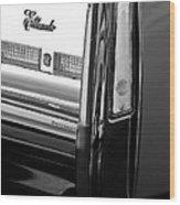 Cadillac Eldorado Taillights Wood Print