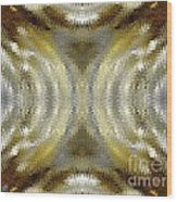 Cafe Au Lait Kaleidoscope Wood Print