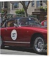 California Mille Wood Print