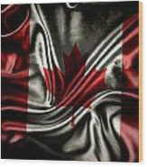 Canadian Flag  Wood Print