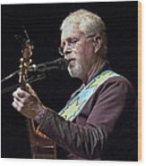 Canadian Folk Rocker Bruce Cockburn Wood Print