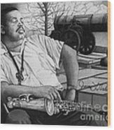 Jazz Cannonball Adderly Wood Print