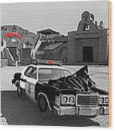 Cannonball Run 2 Brothel Set Mexican Plaza Old Tucson Arizona 1984 Wood Print