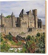 Carcassonne France Wood Print