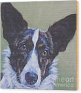 Cardigan Welsh Corgi Wood Print