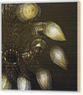Cascading Light Wood Print