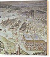 Castello, Fabrizio 1562-1617. Battle Wood Print