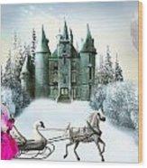 Castles Fantasy Wood Print