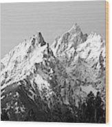 Cathedral Group Grand Teton National Wood Print