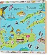 Cayman Islands Wood Print