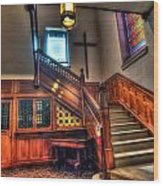 Central Presbyterian Church Wood Print