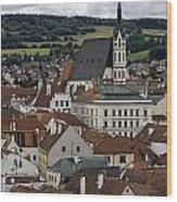 Cesky Krumlov. Wood Print