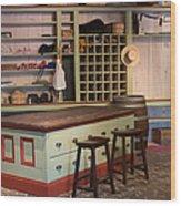 Charles Lohman's General Store Wood Print