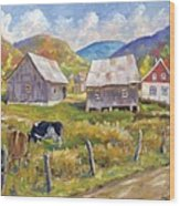 Charlevoix North Wood Print