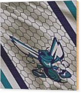 Charlotte Hornets Uniform Wood Print
