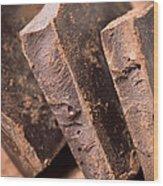 Chocolate Wood Print