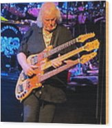 Chris Squire Of Yes Wood Print