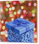 Christmas Box Wood Print