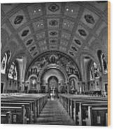 Church Of Saint Bernard Wood Print