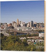 Cincinnati, Ohio Wood Print