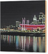 Cincinnati Skyline 3 Wood Print