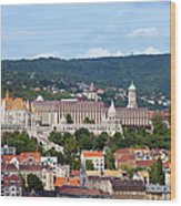 City Of Budapest Wood Print