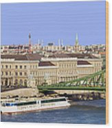 City Of Budapest In Hungary Wood Print